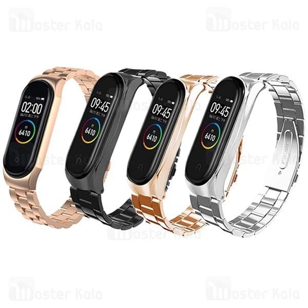 بند فلزی دستبند سلامتی شیائومی Xiaomi Mi Band 4 / 3 Metal Strap |