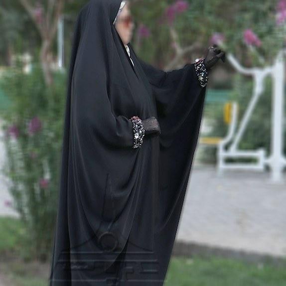 تصویر چادر عبا کن کن ندا مچ جواهردوزی