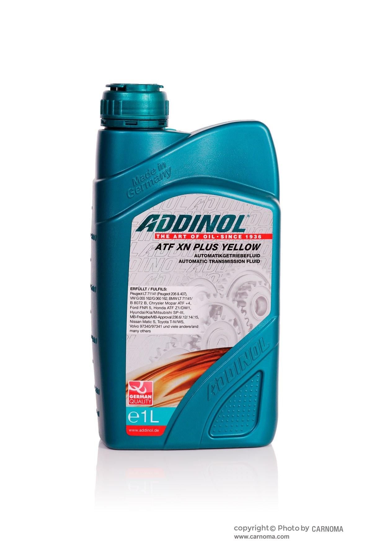 تصویر روغن گیربکس ادینول ATF XN PLUS YELLOW حجم یک لیتر ا Addinol Addinol XN Plus Yellow 1Lit Addinol Addinol XN Plus Yellow 1Lit