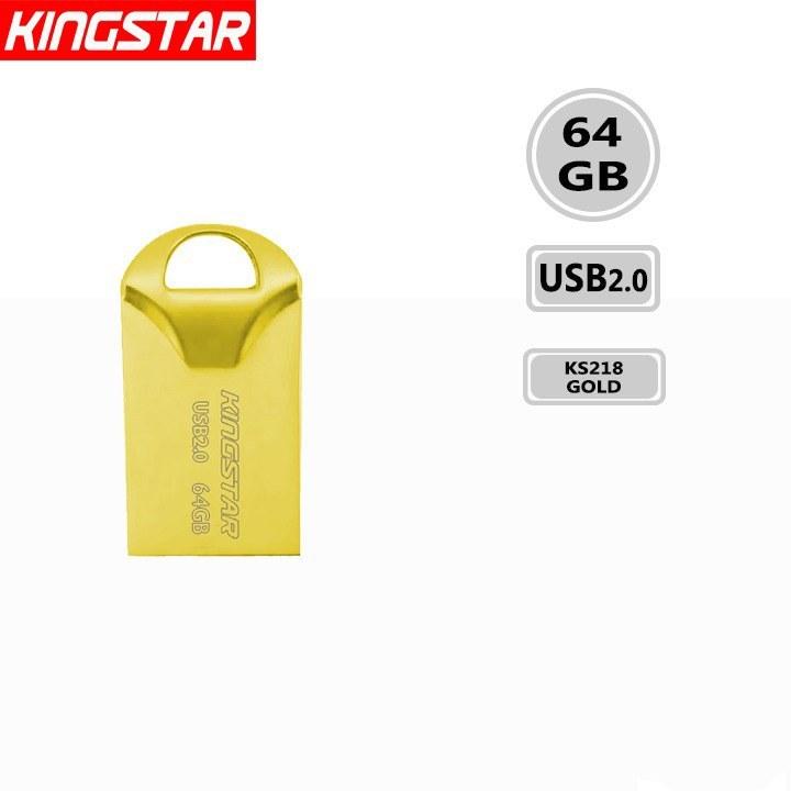 تصویر فلش مموری کینگ استار مدل KS218 Fido ظرفیت 64 گیگابایت Kingstar KS218 Fido Flash Memory 64GB