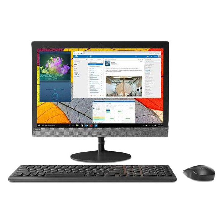 تصویر کامپیوتر آماده لنوو مدل V130 با پردازنده سلرون کامپیوتر آماده AIO لنوو V130 J4005 4GB 500GB Intel All-in-One PC