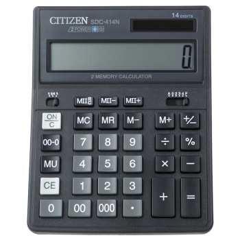 تصویر ماشین حساب سیتیزن مدل SDC-414N Citizen SDC-414N Calculator
