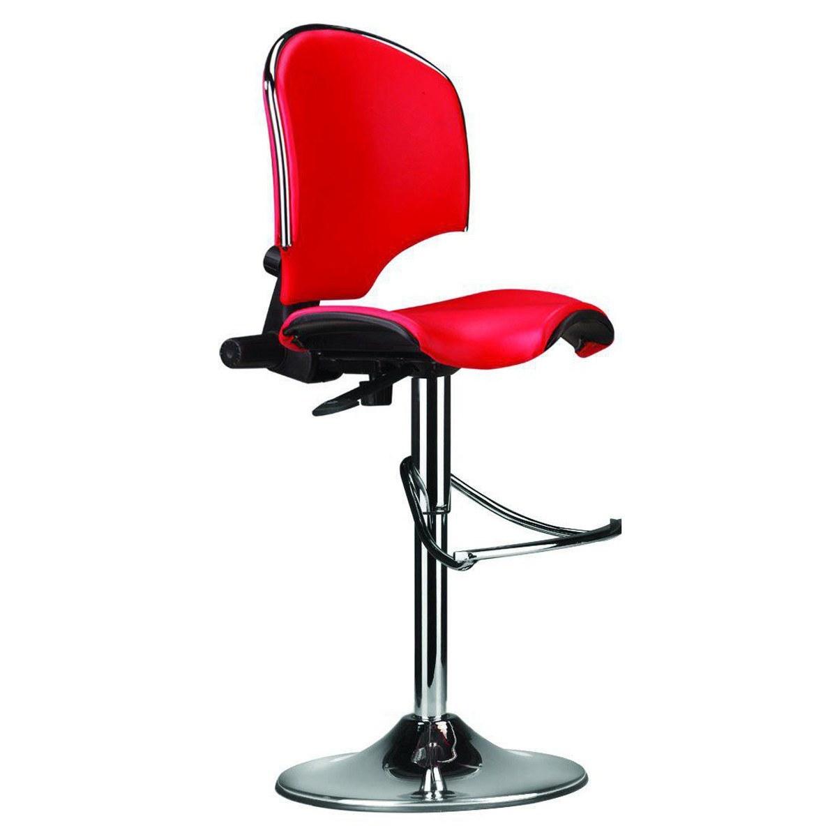 صندلی کانتر سیلا O15x با روکش چرم