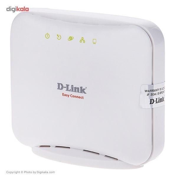 img مودم ای دی اس ال - دی لینک D-Link DSL-2520U ADSL2+ Ethernet/USB Combo Modem Router