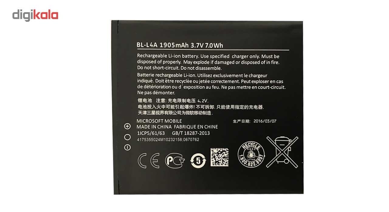 main images باتری  مدل BL-L4A مناسب برای مایکروسافت لومیا 540             غیر اصل
