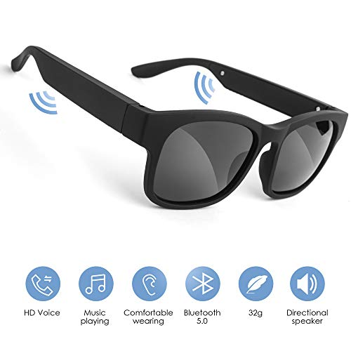 عینک آفتابی بلوتوث GELETE عینک هوشمند Bluetooth Open Music