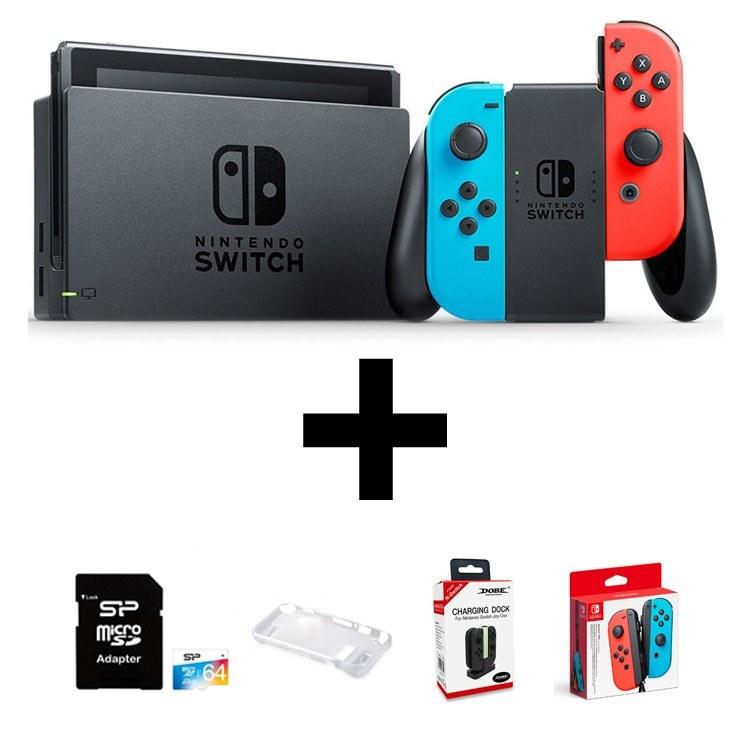 تصویر کنسول Nintendo Switch فول پک