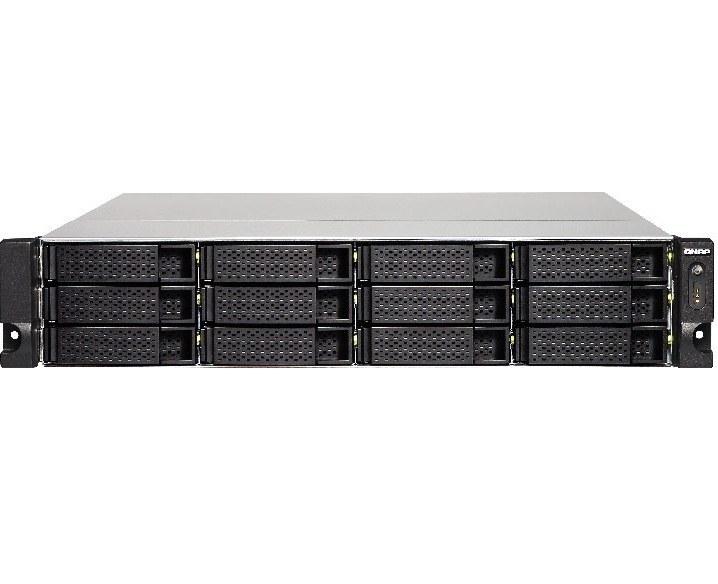 تصویر ذخیره ساز تحت شبکه کیونپ مدل TS-1253BU-RP-4G QNAP TS-1253BU-RP-4G 4GB 12-Bay Diskless Network Attached Storage