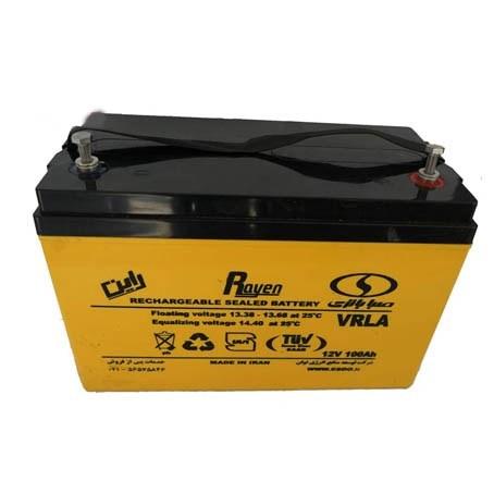 باتری یو پی اس 12 ولت 100 آمپر صباباتری