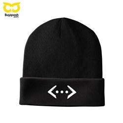 کلاه بافت زمستانی چوکور