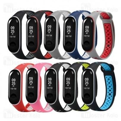 بند سیلیکونی طرح نایکی دستبند سلامتی شیائومی Mi Band 3 Ventilate Nike |