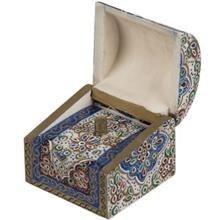 بهشتی جعبه استخوانی طرح تذهیب 4 سایز کوچک