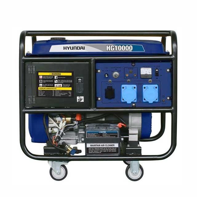 تصویر موتوربرق  بنزینی هیوندای مدلHg10000IG portable generator-Hg10000IG