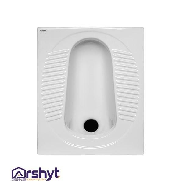 تصویر توالت زمینی موندیال مروارید Mondial Squat Toilet