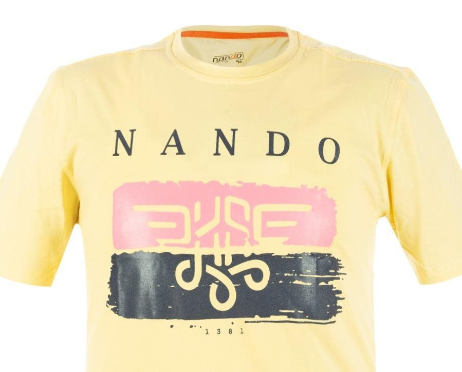 تی شرت مردانه ناندو استایل کد NS329