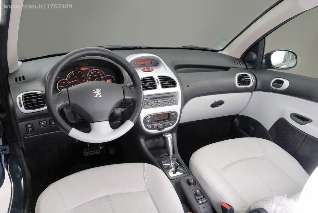 فابریک و مورد استفاده در خط تولید ایران خودرو با کیفیت عالی کروز - شرکتی | ست کامل دریچه هواکش پژو 206