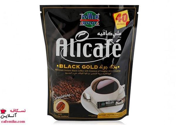 تصویر قهوه فوری بلک گلد علی کافه ۴۰ عددی -