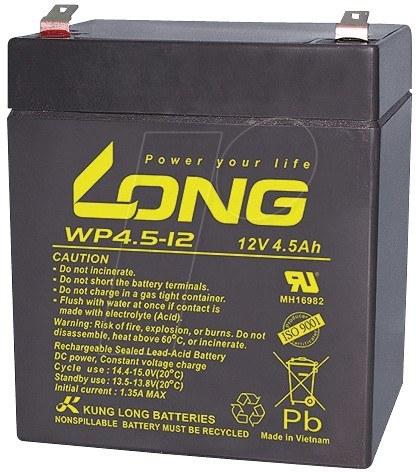 تصویر LONG 12V-4.5A UPS Battery