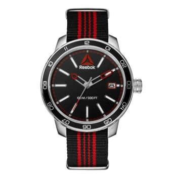 ساعت مچی آنالوگ ریبوک مدل Forge 1.0 Black Red Nato