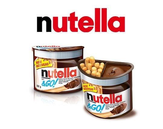 شکلات بیسکوییت NUTELLA AND GO