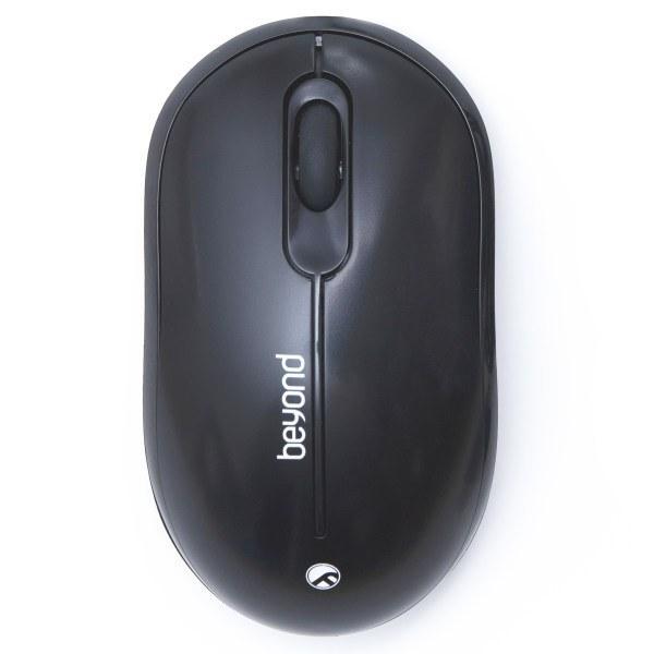 تصویر ماوس بی سیم بیاند مدل BM-3508RF Beyond BM-3508RF Wireless Mouse