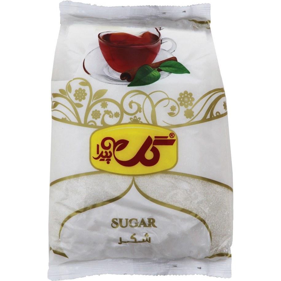 شکر سفید گل پیدا مقدار 900 گرمی
