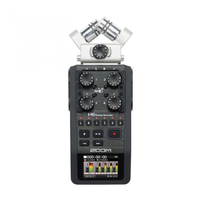 عکس ضبط کننده صدا زوم مدل H6 ضبط کننده صدا زوم H6 Voice Recorder ضبط-کننده-صدا-زوم-مدل-h6