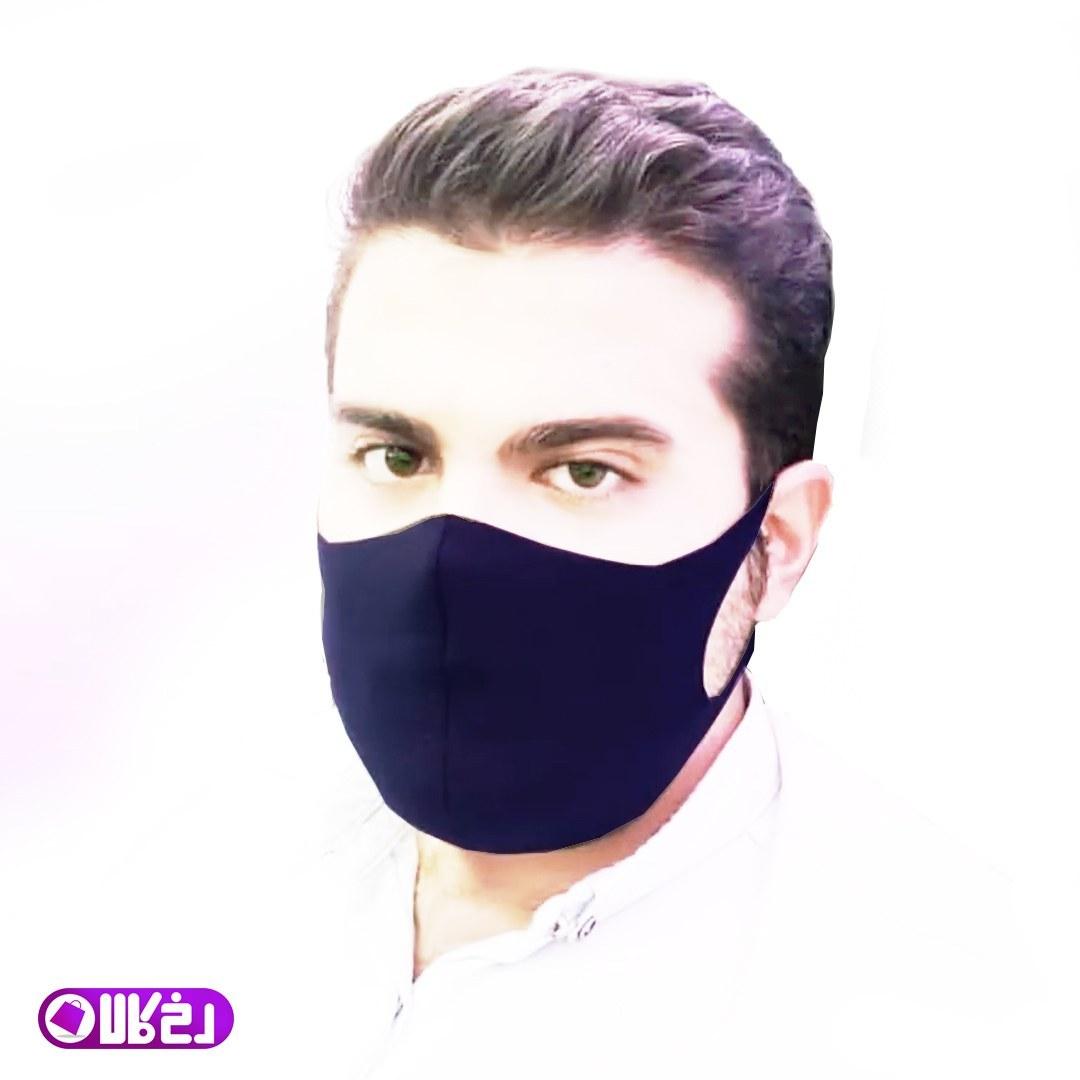 تصویر ماسک صورت روسی بسته 10 عددی  قابل شستشو ماسک تنفسی با پارچه کشی قابل شستشو