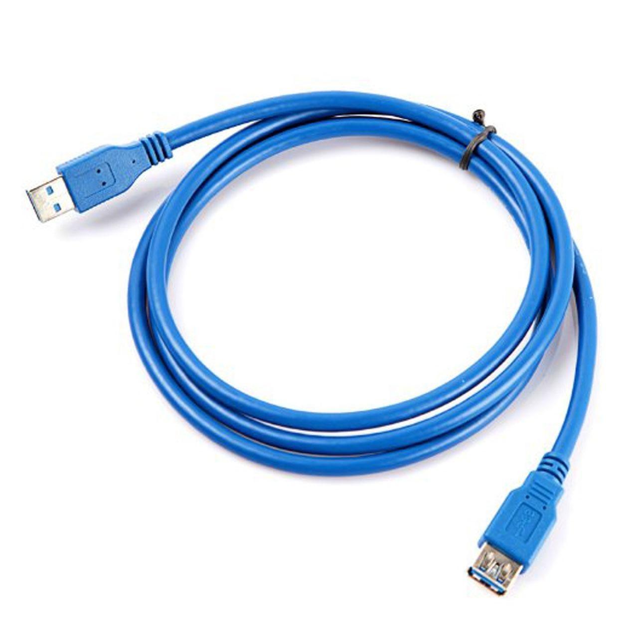 تصویر کابل افزایش طول USB 3.0