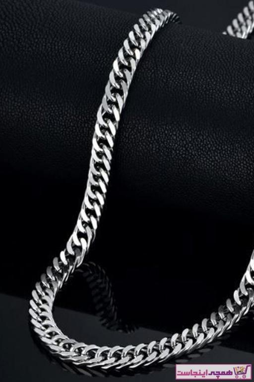 تصویر گردنبند زیبا مردانه برند X-Lady Accessories رنگ نقره کد ty54505201