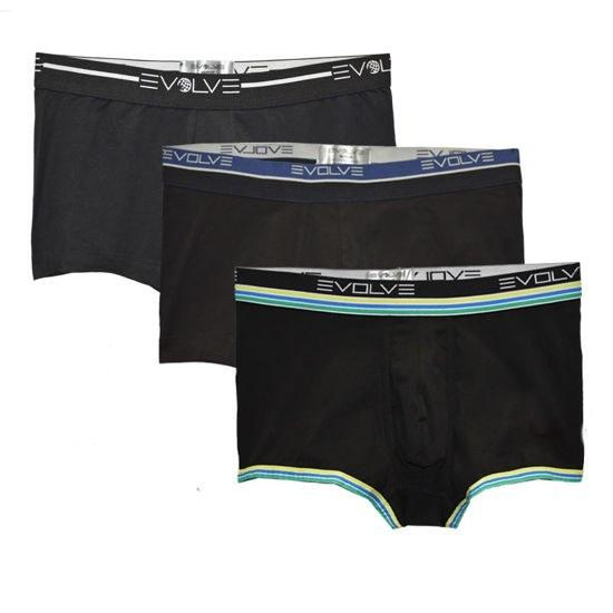 عکس شورت مردانه ایولو مدل Evolve 107-24106 مجموعه 3 عددی Evolve 107-24106 Underwear for Men 3pcs شورت-مردانه-ایولو-مدل-evolve-107-24106-مجموعه-3-عددی