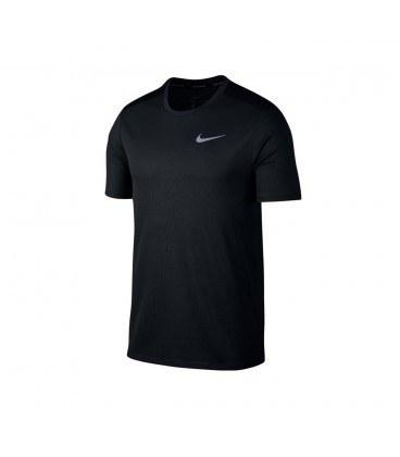 تیشرت مردانه نایک مشکی Nike Breathe Run Top Ss 904634-322