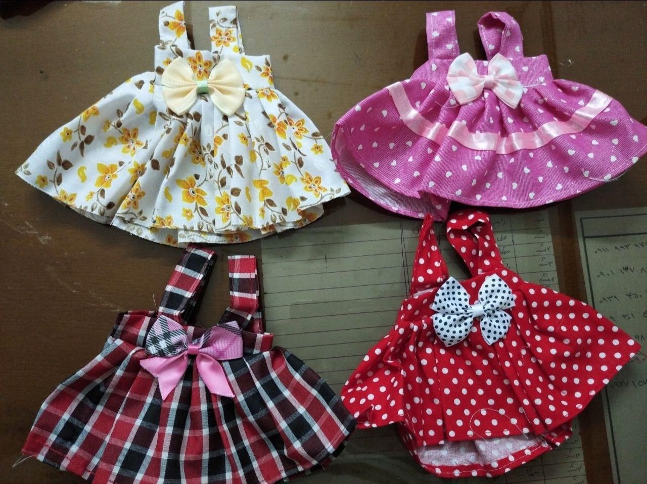 لباس دخترانه عروسک