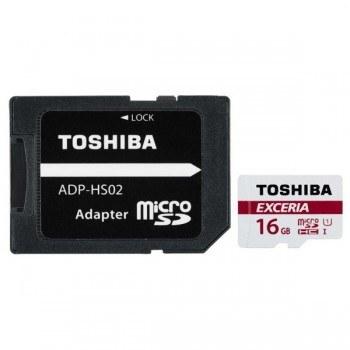 کارت حافظه MicroSDHC توشیبا مدل Exceria M302 کلاس ۱۰ استاندارد UHS-I U3