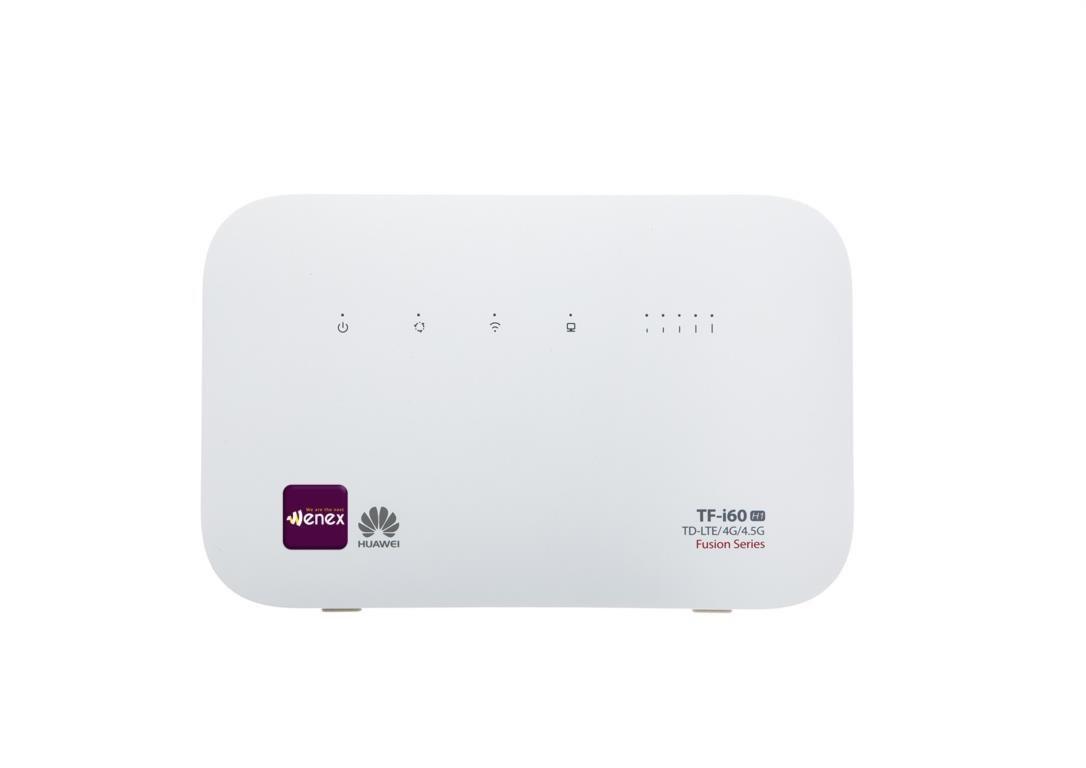 تصویر مودم 4G/4.5G/TD-LTEمدل TF-i60 H1 به همراه 500 گیگ اینترنت یکساله