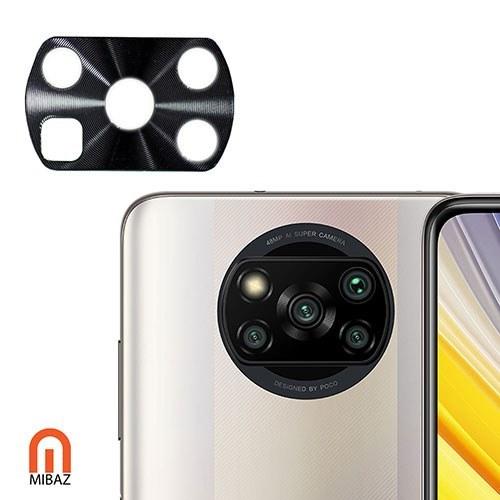 تصویر محافظ لنز دوربین آلیاژ AK مناسب برای گوشی موبایل شیائومی پوکو X3 / X3 NFC Alloy AK Camera Lens Protector For Xiaomi Poco X3 / X3 NFC