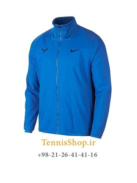 سوییشرت تنیس نایک مدل Court Rafa Nadal رنگ آبی  