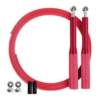 تصویر طناب ورزشی کراس فیت قرمز