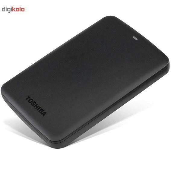 تصویر هارد دیسک اکسترنال توشیبا مدل Canvio Basics ظرفیت 3 ترابایت Toshiba Canvio Basics External Hard Drive - 3TB