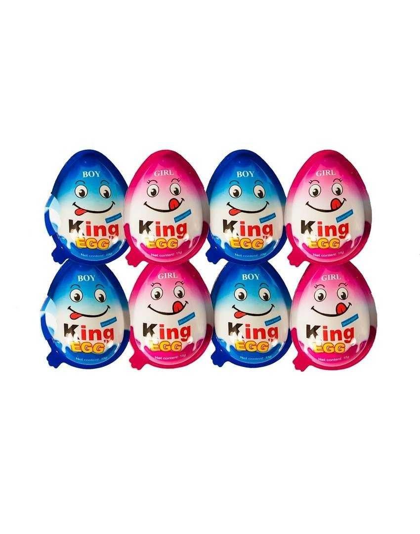 تصویر تخم مرغ شانسی کینگ 8عددی king egg