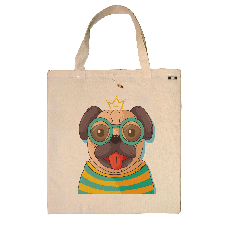تصویر ساک خرید ممفیس طرح سگ کد 93
