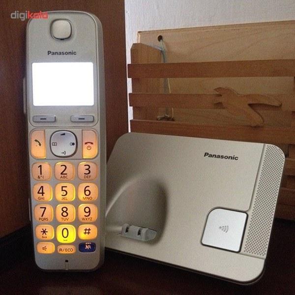 تصویر گوشی تلفن  بی سیم  پاناسونیک Panasonic Cordless Telephone KX-TGE210