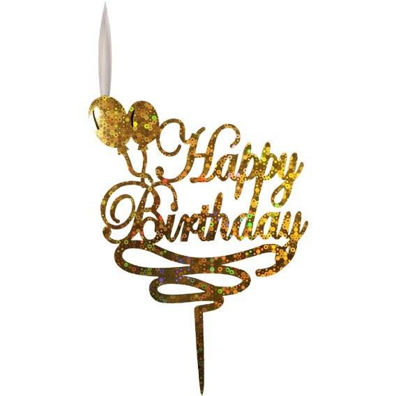 تصویر تاپر کیک تولد هپی برزدی ۰۵