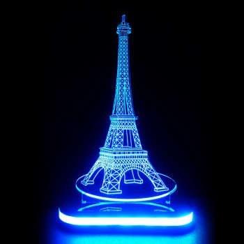 چراغ خواب طرح برج ایفل کد 1102