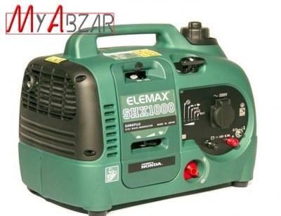 تصویر موتور برق بنزینی هوندا المکس ژاپن مدل SHX1000 honda elemax SHX1000 Gasoline electric motor