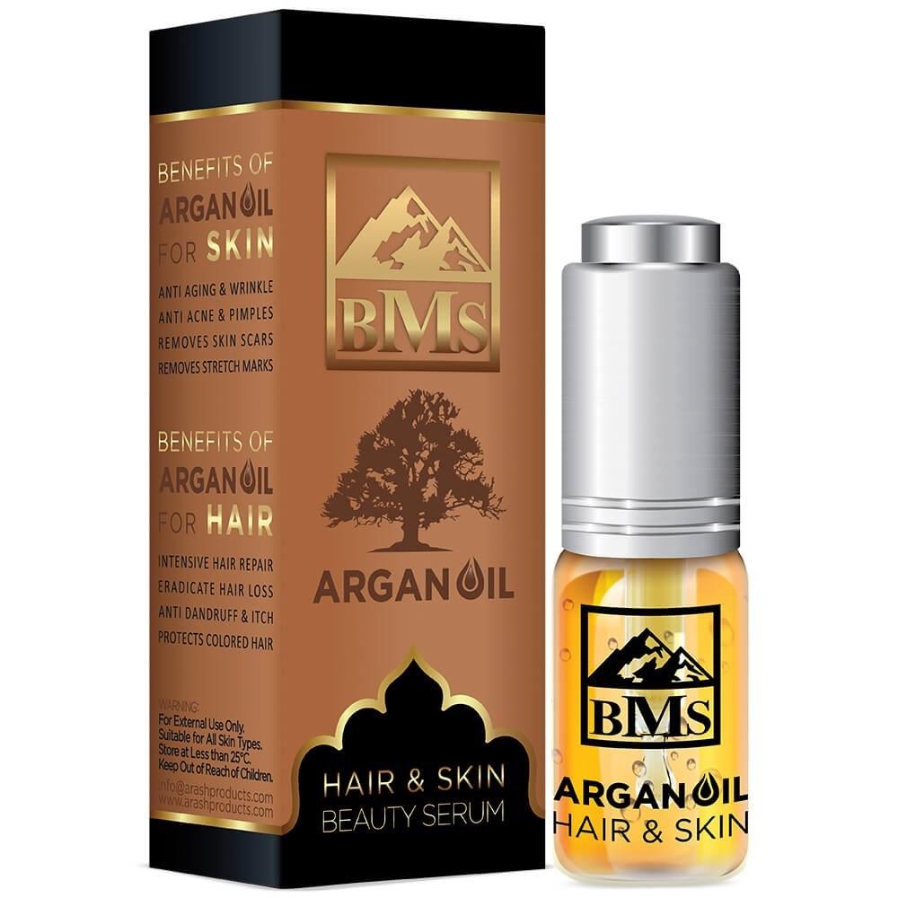 main images روغن آرگان بی ام اس مخصوص پوست و مو حجم 10 میل BMS Argan Oil For Hair And Skin 10 ml