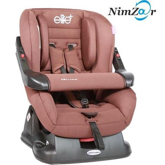 صندلی خودرو کودک الیت پلاس رنگ قهوه ای دلیجان |