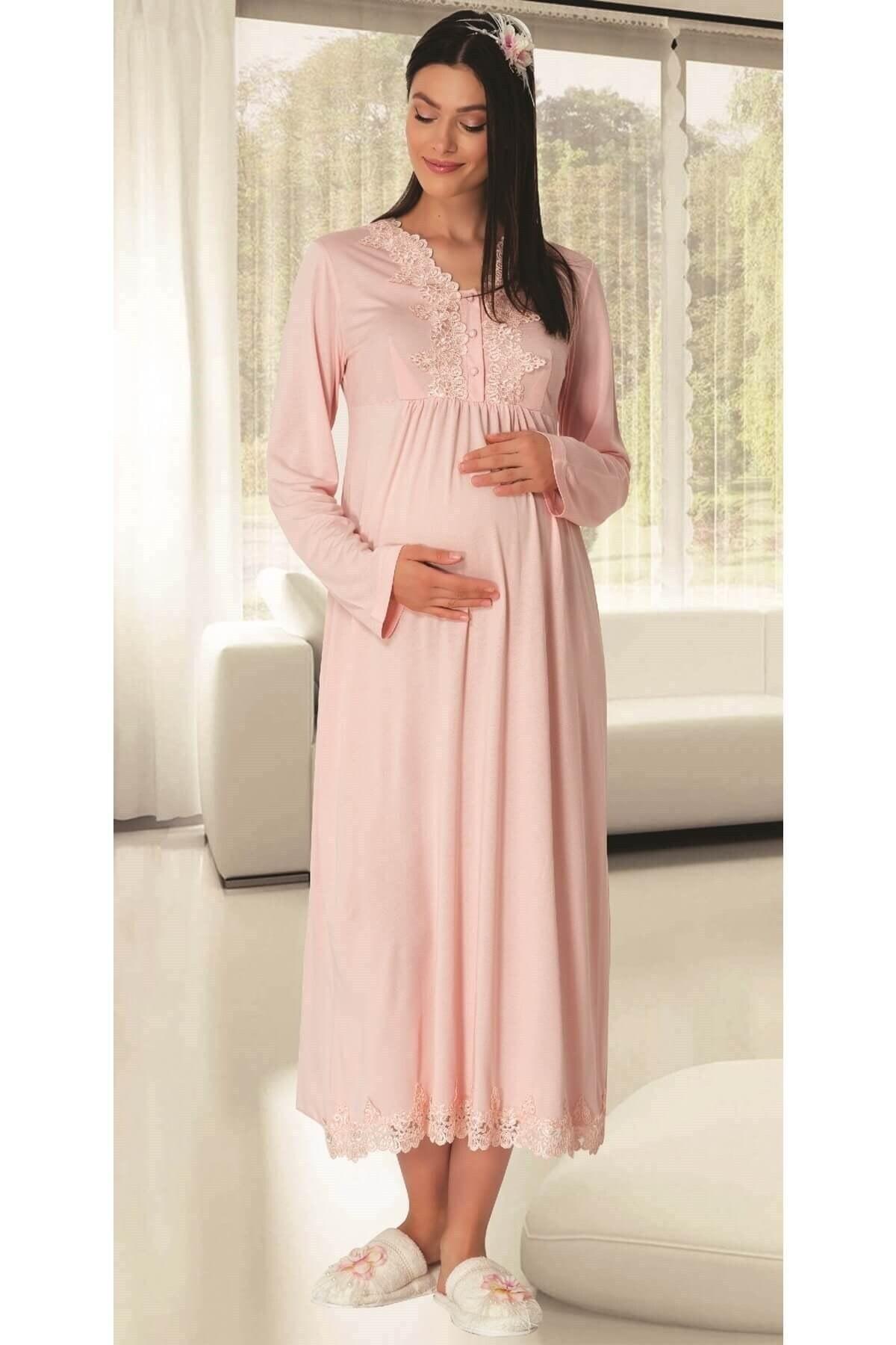 تصویر پودر لباس شب 1512بارداری برند Mecit Pijama کد 1616640904