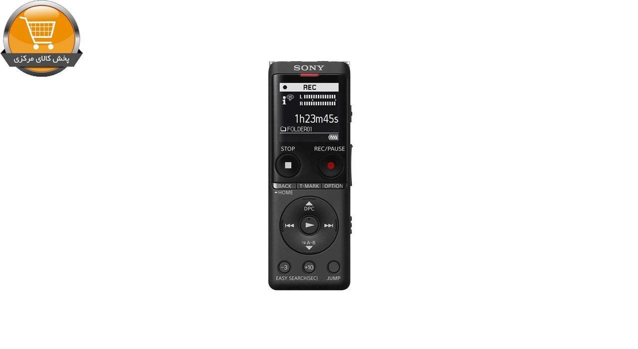 تصویر ضبط کننده صدا سونی ICD-UX570 Silver Sony ICD-UX570 Silver Digital Voice Recorder