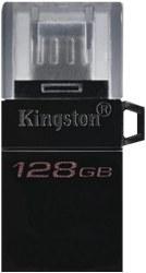 تصویر فلش مموری 128 گیگابایت Kingston مدل DataTraveler Microduo3 G2